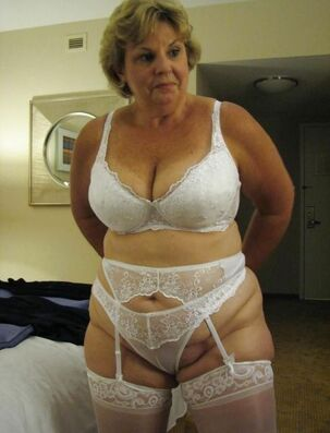 Nude grandmas displaying Nude melons and aged beavers in..